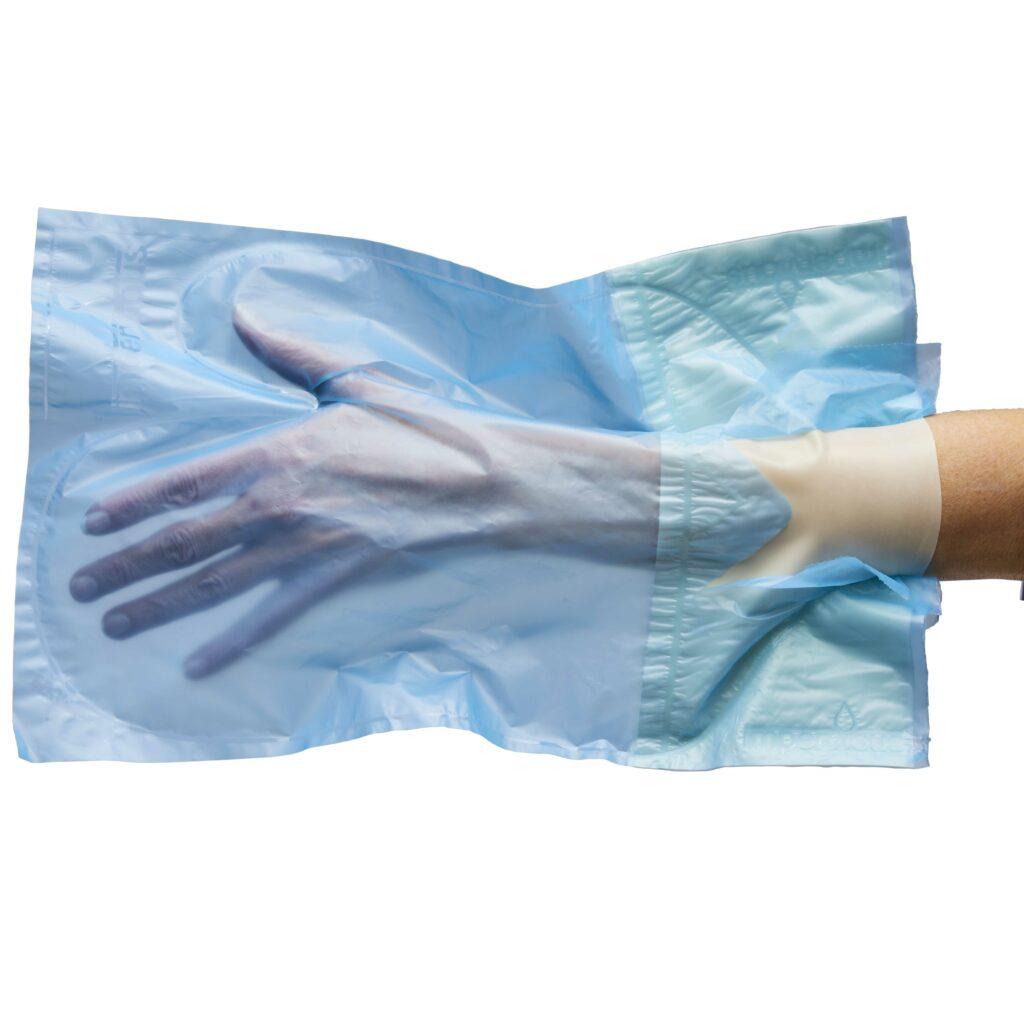 Kort handske
